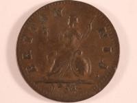 Farthing (1/4d), 1754. © York Museum Trust
