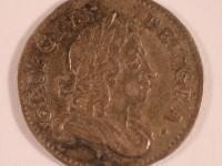 Threepence (3d), 1727. © York Museum Trust