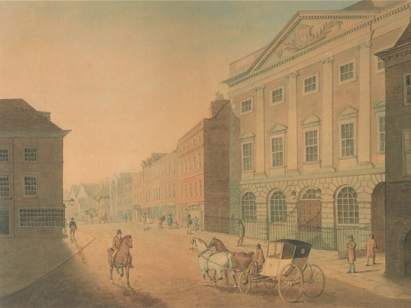 Thomas White, 'Coney Street and the Mansion House', c. 1800 (York Art Gallery).