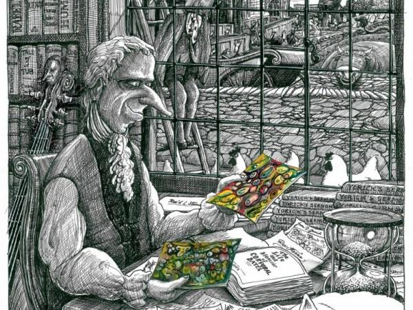 From 'Yorick's Progress', 2009 © Martin Rowson